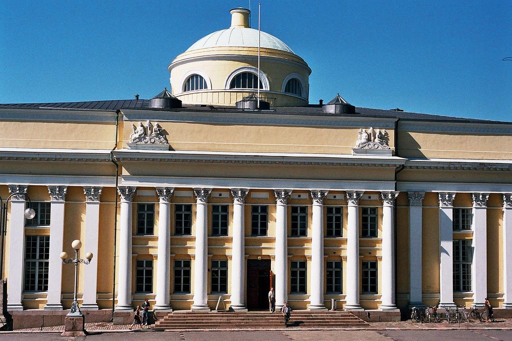 Университетская библиотека Хельсинки