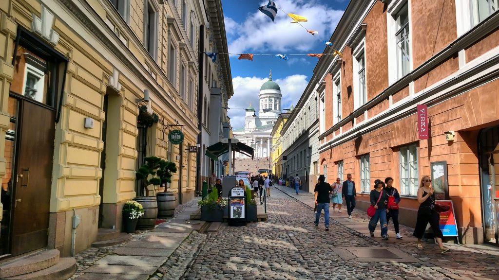 Хельсинки - Софийская улица