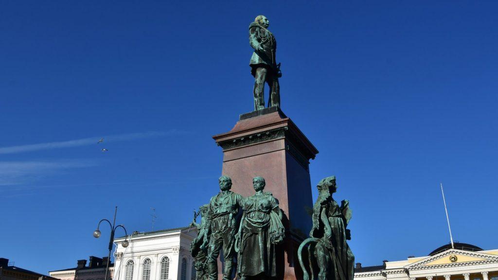 Хельсинки - памятник Александру II