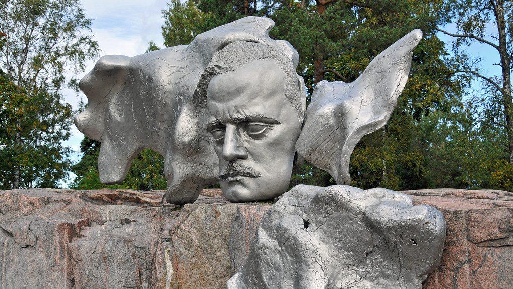 Ян Сибелиус - памятник