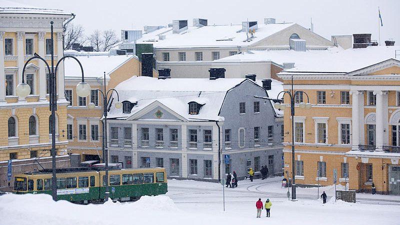 Хельсинки - дом купца Седерхольма