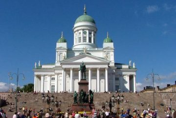 Сенатская площадь Хельсинки - архитектурный ансамбль