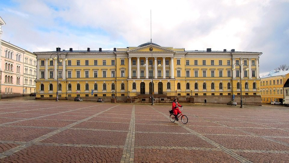 Хельсинки - Здание Сената