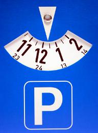 парковочные часы (parkkikiekko)
