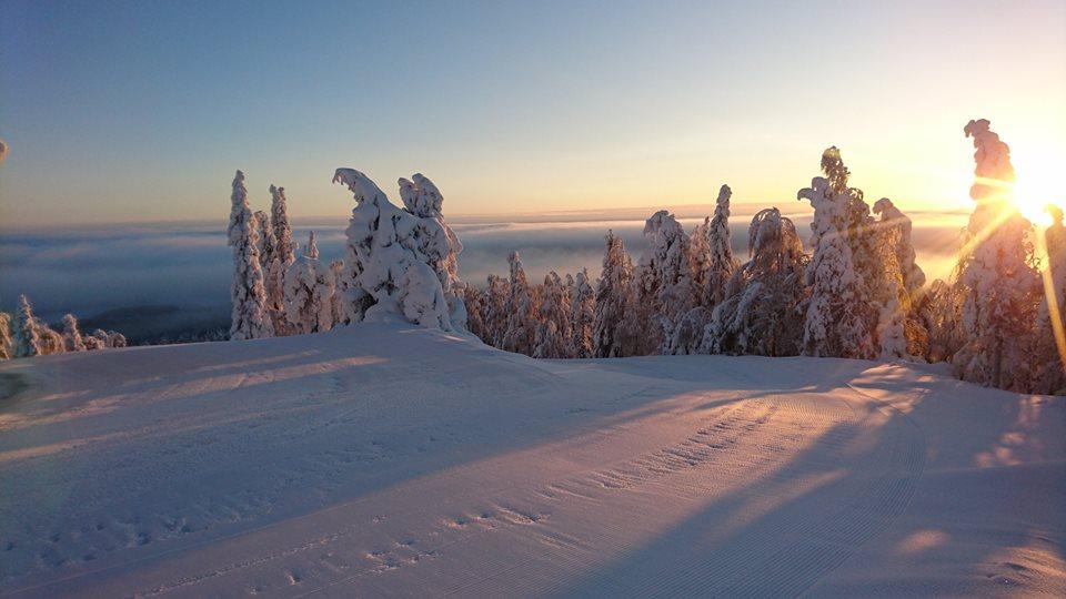 Зима в Вуокатти