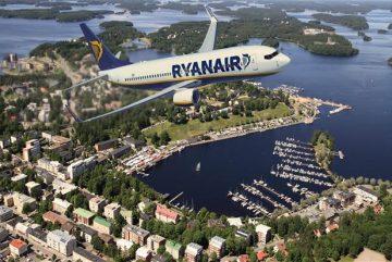 Ryanair из Лаппеенранта