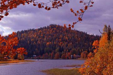 Осень в Леви