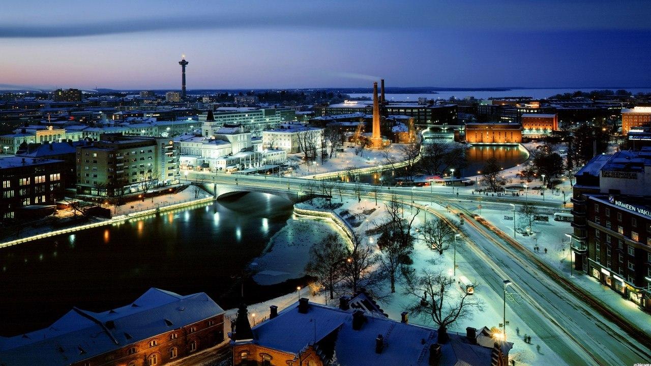 Города Финляндии - Тампере