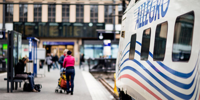 Поезд Аллегро в Хельсинки - vr.fi