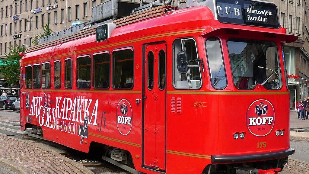 Трамвай-бар Spårakoff