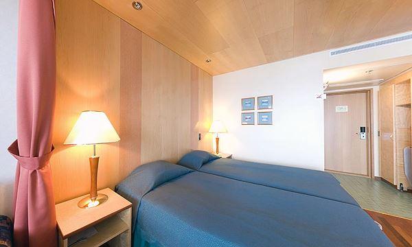Стандартный двухместный номер в гостинице Holiday Club Tampere Spa, Тампере