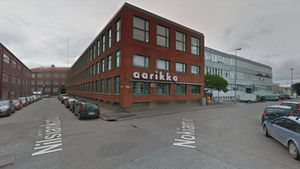Бесплатные парковки в Хельсинки - Vallila