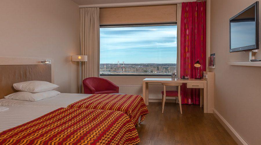 Стандартный двухместный номер в гостинице Break Sokos Hotel Flamingo, Вантаа