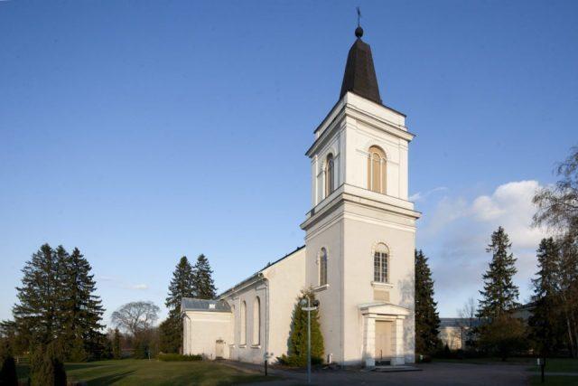 Лютеранская церковь Св.Марии в Хамине