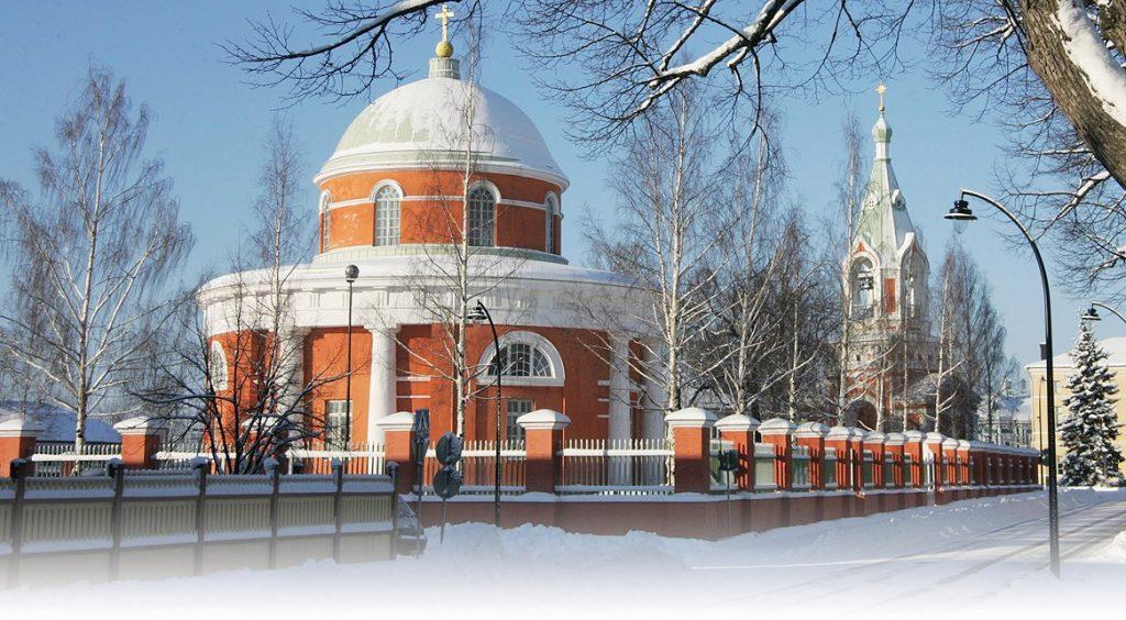 Православная церковь Св.Петра и Павла в Хамине