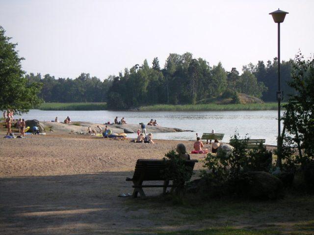 Пляж Кивинокка