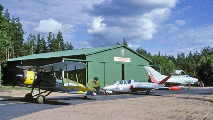 Музей авиации в Котке. VisitKotkaHamina