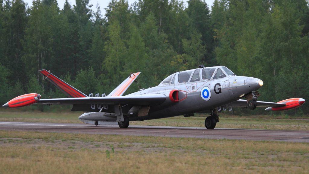 Самолет Fouga CM 170 Magister