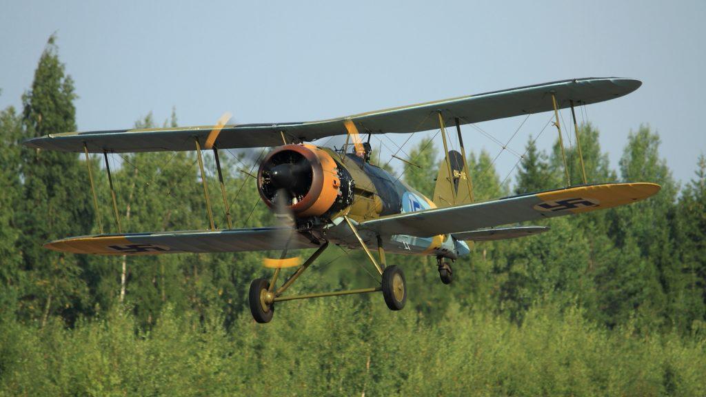 Самолет Gloster Gauntlet II