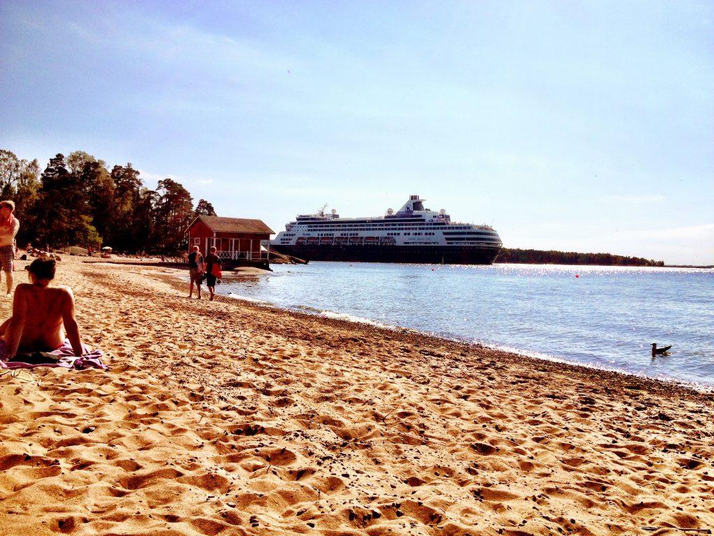 Пляж Пихлаясаари