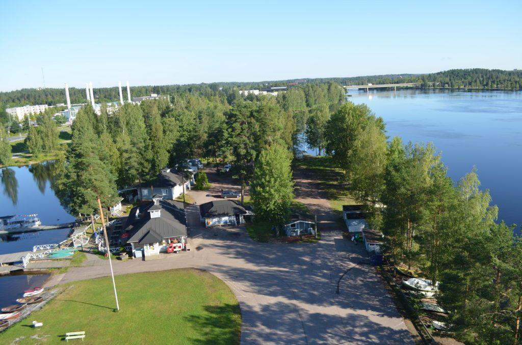 Рыболовный парк в Иматре Vuoksen Kalastuspuisto