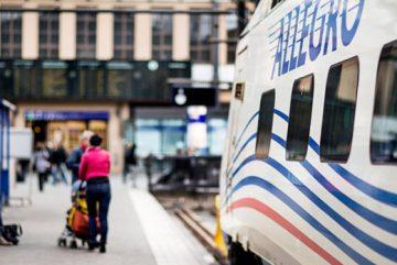 Пересечение границы с Финляндией на поезде