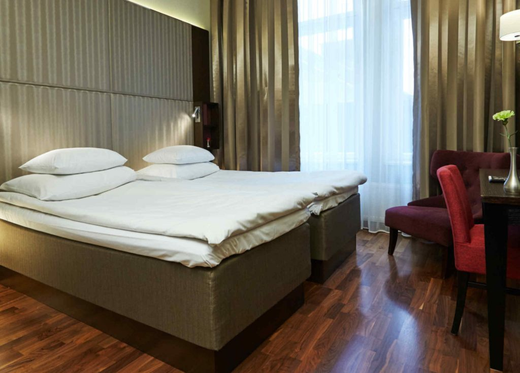 Двухместный номер Comfort в гостинице GLO Hotel Kluuvi, Хельсинки