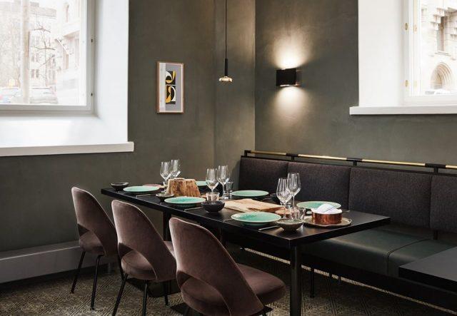 Ресторан Andrea в отеле St.George, Хельсинки