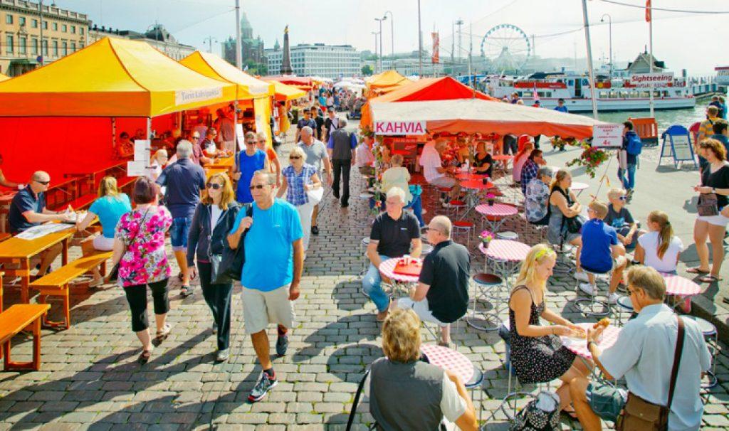 торговая площадь Хельсинки