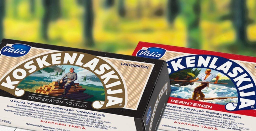 Плавленый сыр Koskenlaskija Valio