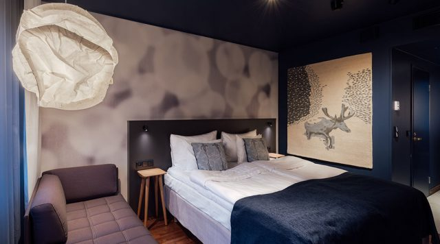 Номер Superior King by Ivana в гостинице Original Sokos Hotel Presidentti, Хельсинки