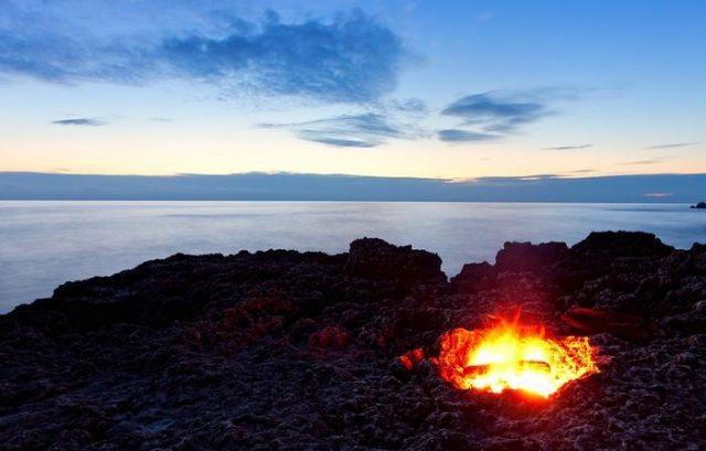 Ночь древних огней в Котке