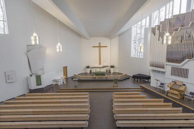 Церковь креста в Лахти