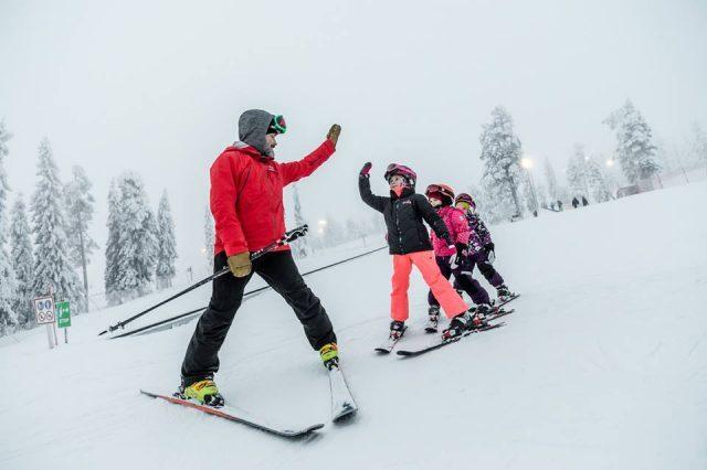 лыжная школа Рука