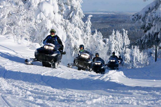 сафари на снегоходах, Рука