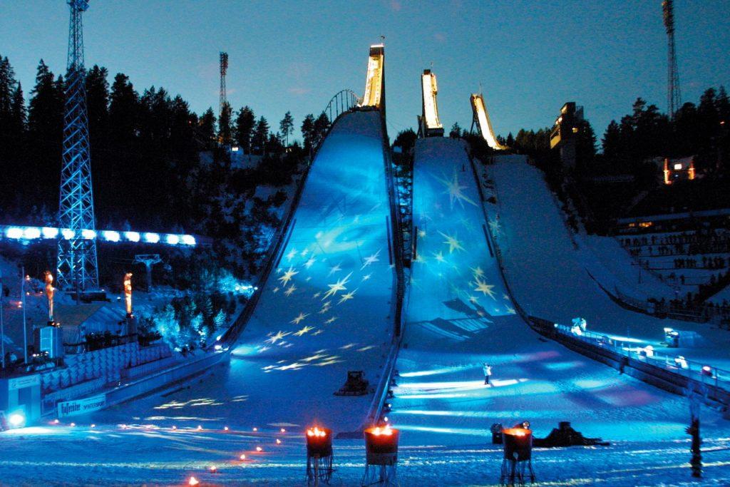 Лыжные трамплины в Лахти