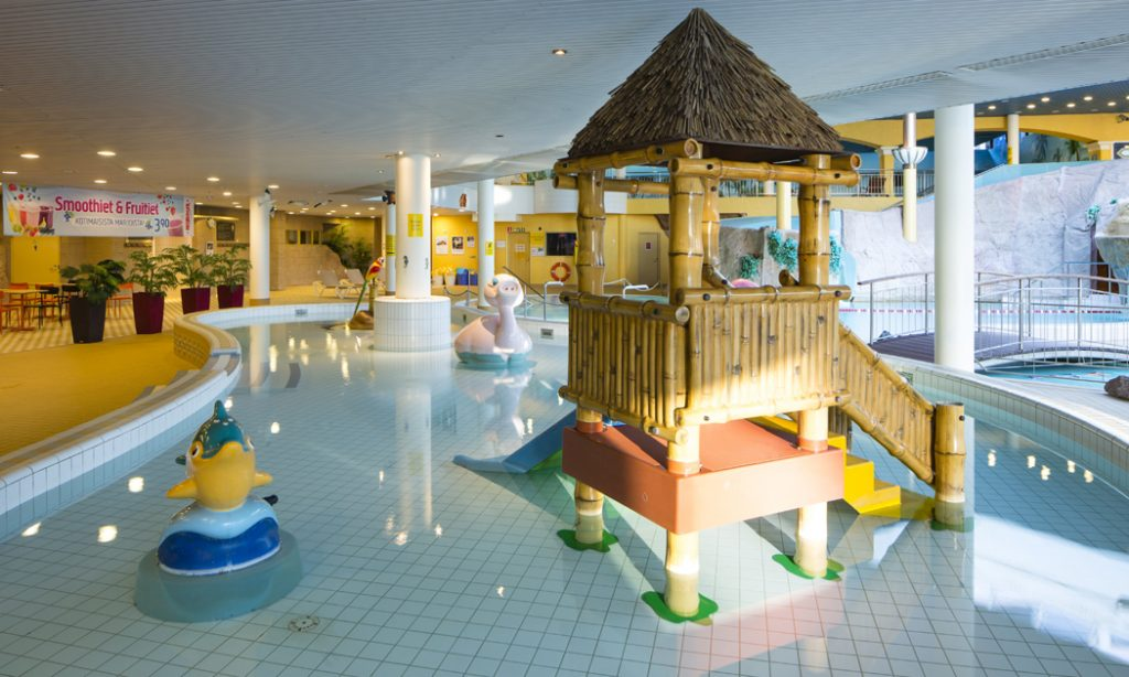 Детский бассейн в аквапарке Caribia, Турку