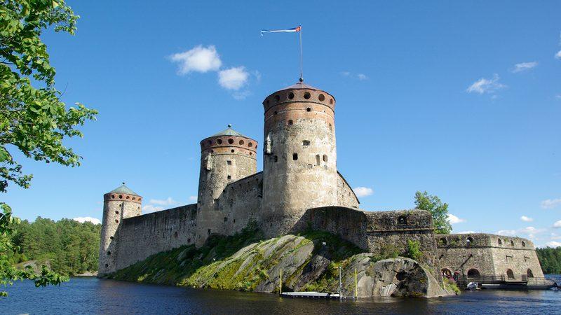 Города Финляндии - Савонлинна