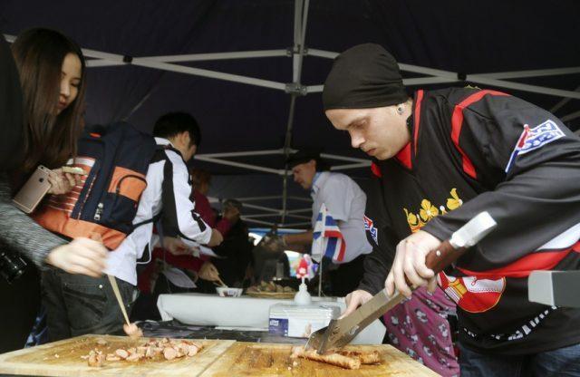 Makkarafest - колбасный фестиваль в Иматре