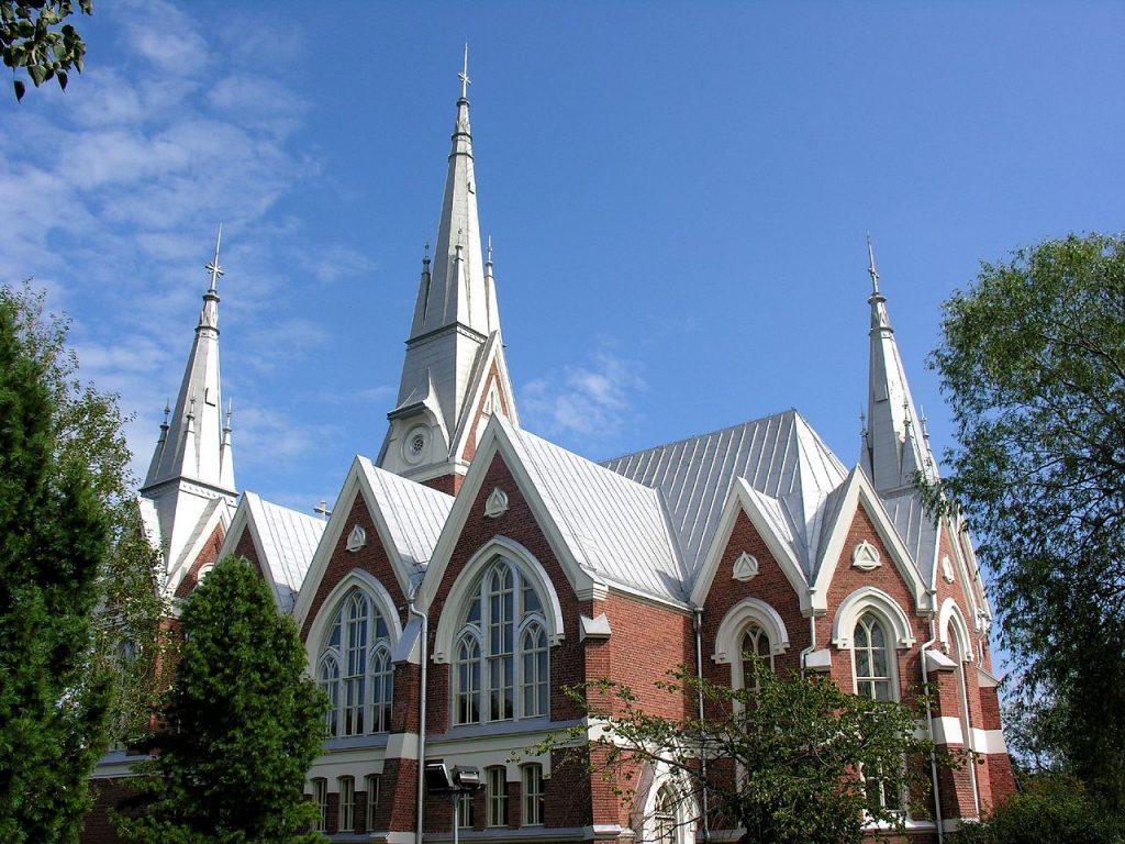 Евангелическо-лютеранская церковь Йоэнсуу, Фото: Кирилл Пономарев