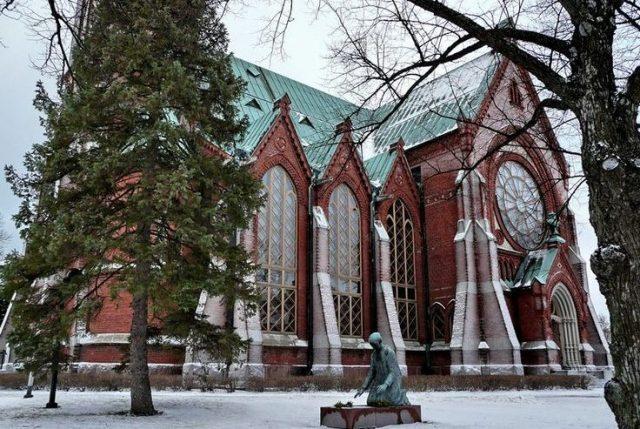 Лютеранская церковь Котки