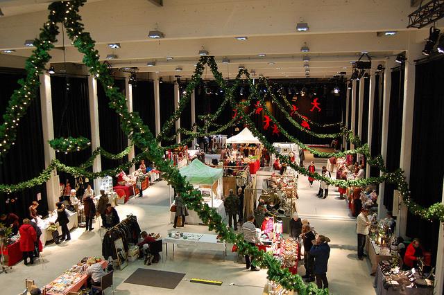Porvoo, Рождественский базар на Арт-фабрике