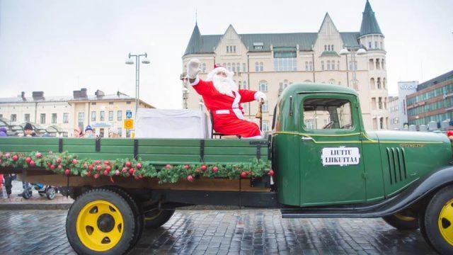 Рождественский парад в Тампере