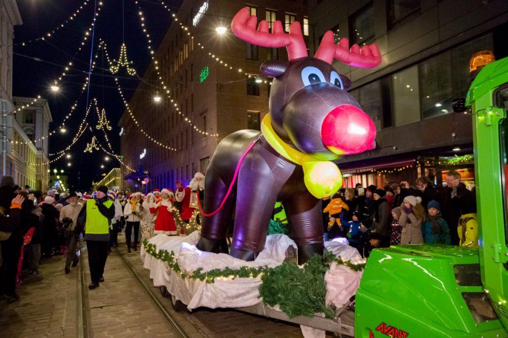 Открытие Рождественской улицы, Хельсинки