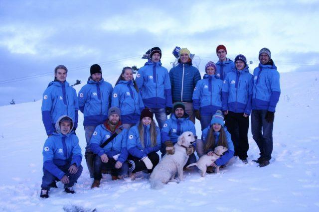 инструкторы горнолыжной школы