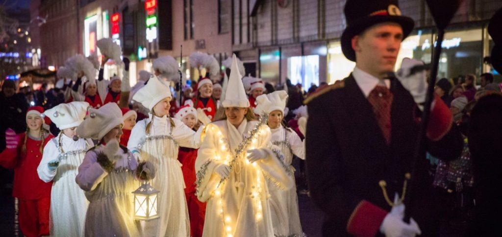 Рождественский парад в Турку