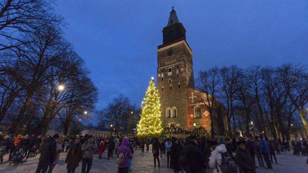 Рождественский Турку. Фото: Timo Jakonen