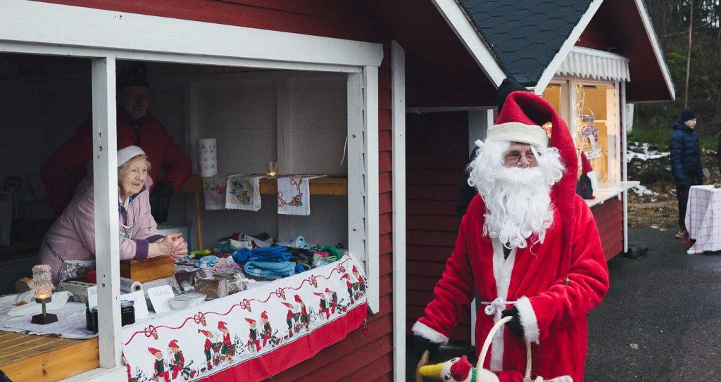 Рождественская ярмарка на острове Пеллинки
