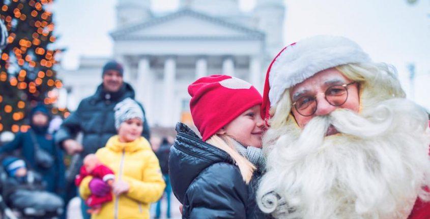 Ярмарка Туомаса на Сенатской площади, Хельсинки