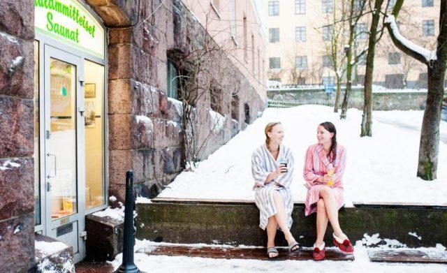 Сауна Kotiharju в Хельсинки